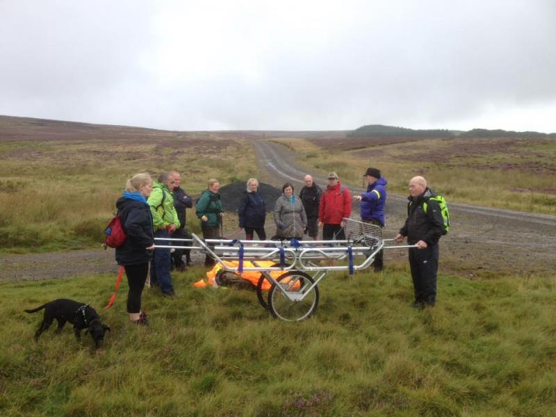 Enjoyable Mountain Rescue Experience Day 2016