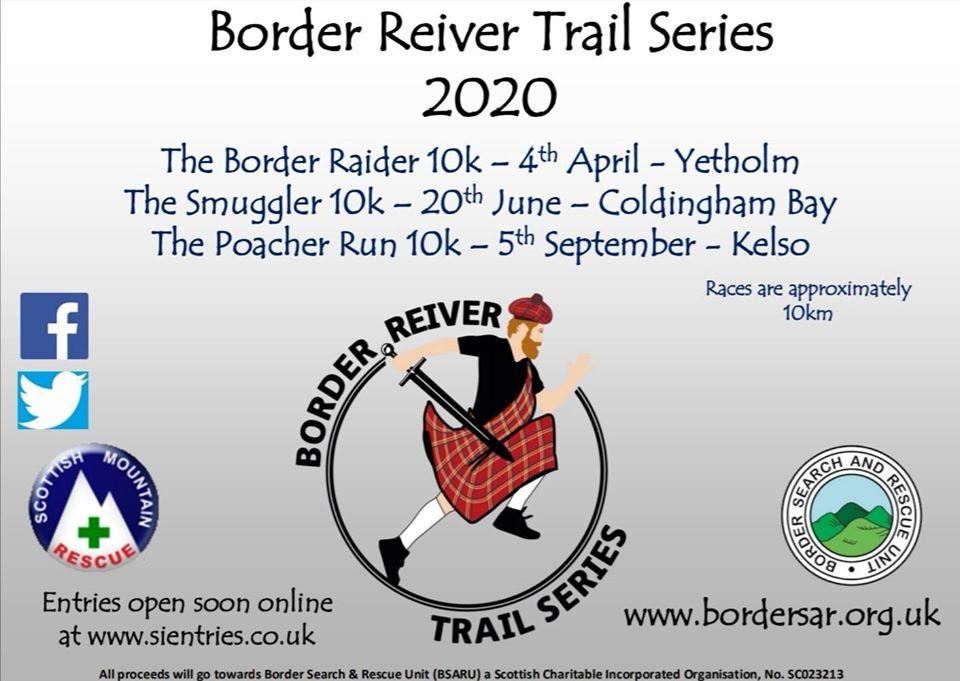 IMPORTANT - Border Reiver Trail Series 2020 Postponed due to Covid-19